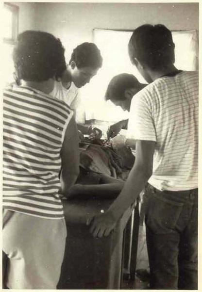 1973년 하계 의료봉사에서.jpg