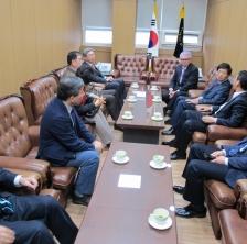 제14대 회장단 총장 예방(11.16)