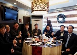 총동문회와 민주동문회의 소중한 만남