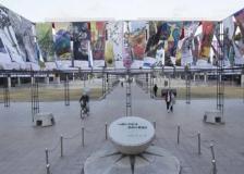 ■ 작가 2018명 참가 평창올림픽 응원 '아트 배너전' 열려