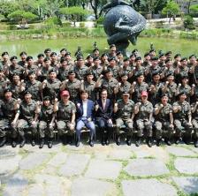 2017년 학군단 하계 입영훈련 출정식 열려