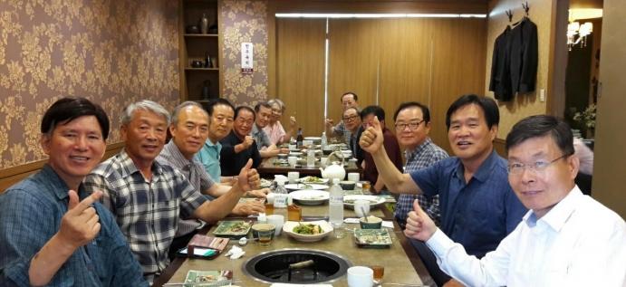 중앙대학교 68년도 법정대 입학동기 흑석골든보이(회장 차영준) 모임