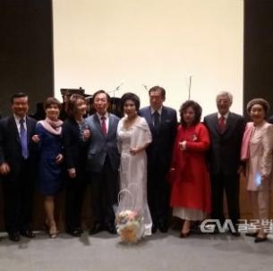 김환규(신문65) 동문, '모두를 위한 문화사랑' 서초문화포럼 창립… 창립기념음악회 열어