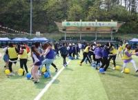 언어교육원, 외국인 유학생 '글로벌 체육대회' 개최