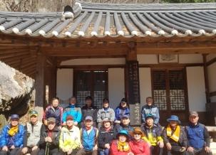 인천산악회 4월 정기산행