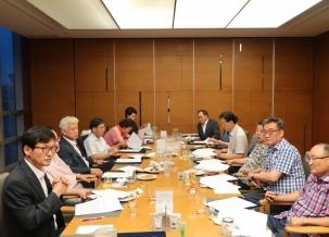 선거관리위원회 1차 회의 개최