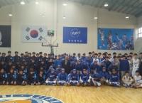 중우체육회(회장 박진서), 모교 스포츠단 방문하여 격려금 전달