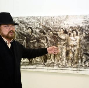 황재형(회화73) 작가가 2010년 이후 7년 만에 평창동 가나아트센터에서 개인전