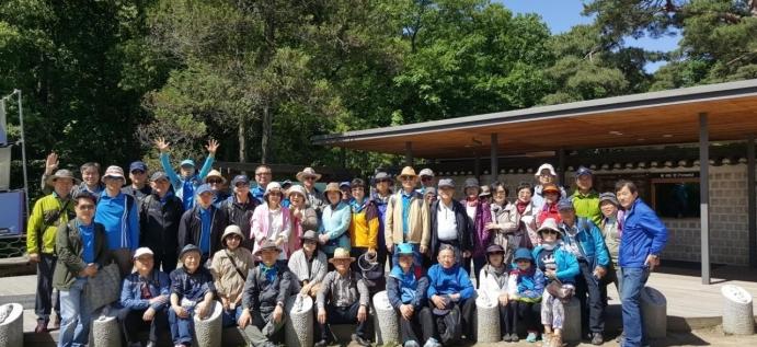 KUSA-C 늘푸른 동문회 2018년  문화탐방