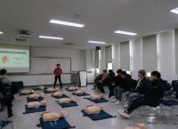 학생지원팀, 신입생 대상 심폐소생술(CPR) 교육 실시