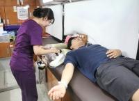소아암 환아를 위한 100주년 헌혈캠페인 체육대학 단체헌혈
