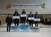 스포츠과학부 스쿼시선수단, 전국스쿼시 선수권대회에서 각종 메달 획득
