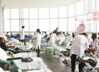 체육교육과, 소아암 환아를 위한 중앙인 헌혈캠페인 단체헌혈 참여