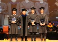 2016학년도 전기 학위수여식 동창회장상에 문학성(기계공학11) 졸업생
