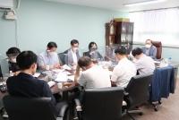 16대 총동창회장 1차 선거관리위원회(위원장 박용호, 건축 76) 회의 개최