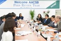 AACSB(국제경영대학인증발전협의회) 실사단 우리대학 방문