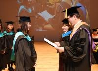 2018학년도 전기 전문·특수대학원 학위수여식 개최