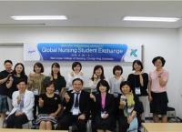 일본 가고시마 대학, 적십자간호대학 방문 작성자 관리자